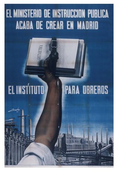 El Ministerio de Instrucción Pública acaba de crear en Madrid el Instituto Para Obreros.