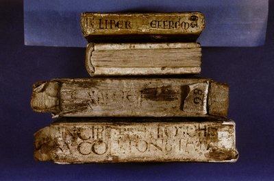 Various manuscripts.