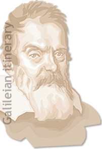 Biographical itinerary of Galileo Galilei