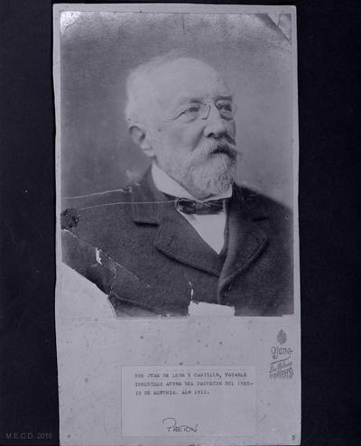 Don Juan de León y Castillo [Material gráfico]