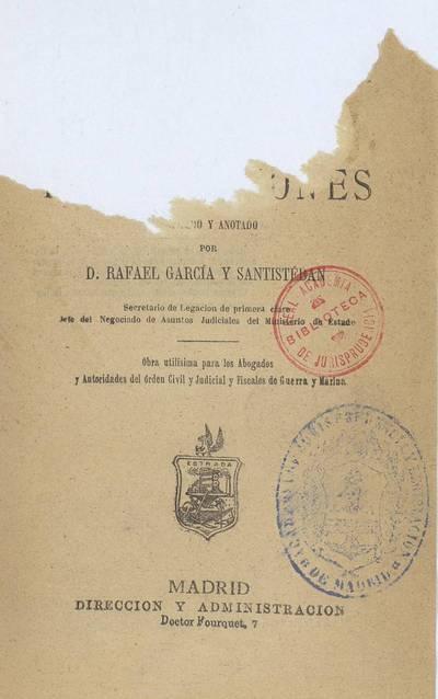 Manual práctico de extradiciones