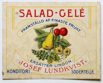 Salad-Gelé. Josef Lundkvist.