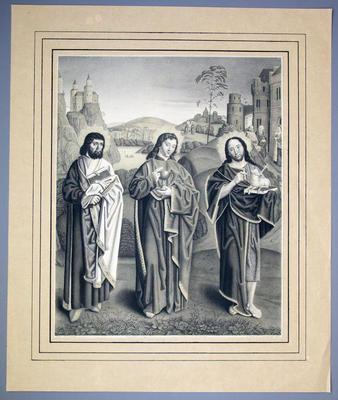 Apostlarna Bartolomeus, Johannes Evangelisten och Johannes Döparen