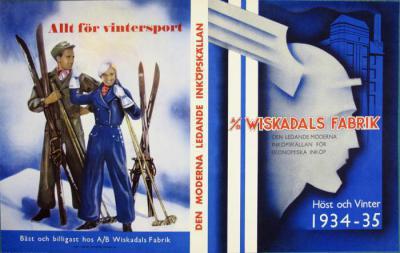 Wiskadals Fabrik. Höst och vinter 1934-35.