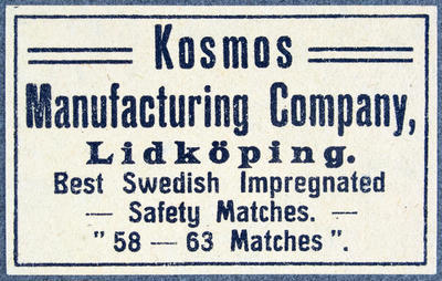 Kosmos Manufacturing Company Lidköping