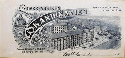 Cigarrfabriken Skandinavien Stockholm