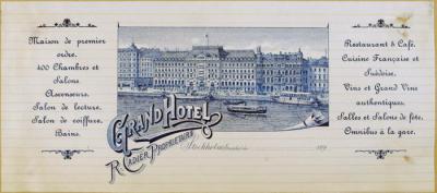 Grand Hotel R. Cadier proprietaire