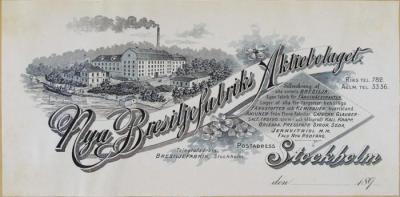Nya Bresiljefabriks Aktiebolag, Stockholm