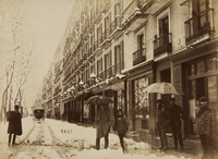 Rambla del Centro nevada