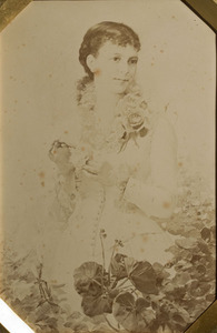 Retrat de Flora Serra Casanovas, mare d'Eusebi Bertrand, als 24 anys d'edat