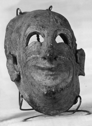 Màscara de Sileno.