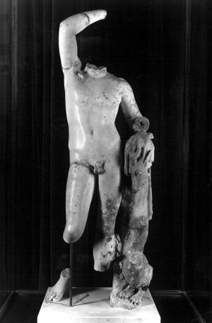 Estatua de Dionís.