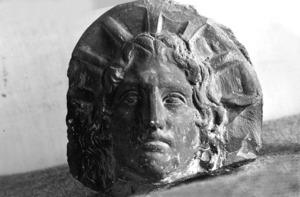Antefixa d'època romana.