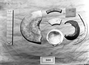 Conjunt de peces del eneolític.