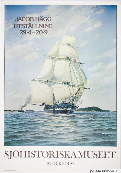 affisch [utställningsaffisch], EUGENIE