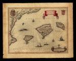 Insvlae Balearides et Pytivsae / E. Sijmons Hamers-veldt sculpsit; Joannes Janssonius excudit