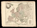 L'Europe divisée en ses principaux Etats