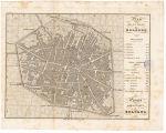 Pianta della città di Bologna = plan de la ville de Bologne