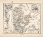 Dänemark und die dänischen kolonie'n : preussische provinz schleswic-holstein im maassstabe von 1:1 500 000 / von A. Petermann