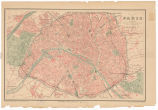 Plan de Paris : indicando todas las avenues, boulevards, rues, passages, etc. / gravé par R. Hausermann