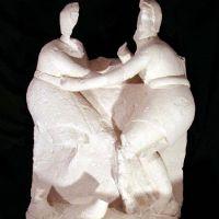 Grupo de la iniciación juvenil del conjunto escultórico de Cerrillo Blanco (Porcuna, Jaén, España)