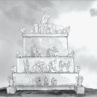 Reconstrucción hipotética del monumento de Cerrillo Blanco (Porcuna, Jaén, España)