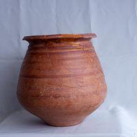 Urna funeraria. Tumba XII. Ajuar de la necrópolis de Los Patos, Cástulo (Linares, Jaén, España).
