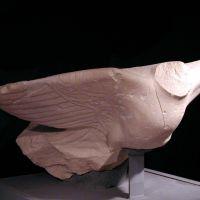 Águila, arpía o sirena. Conjunto escultórico de Cerrillo Blanco (Porcuna, Jaén, España).