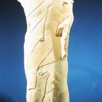 Varón con manípulo. Conjunto escultórico de Cerrillo Blanco (Porcuna, Jaén, España).