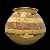 Urna funeraria de la tumba 66 de la necrópolis de Piquía (Arjona, Jaén, España)