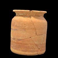 Urna funeraria 7 de la tumba 16 de la necrópolis ibérica de Piquía (Arjona, Jaén, España)