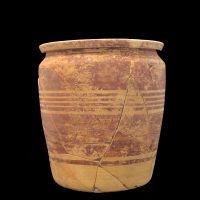 Urna funeraria 8 de la cámara principesca (tumba 65) de la necrópolis ibérica de Piquía (Arjona, Jaén, España).