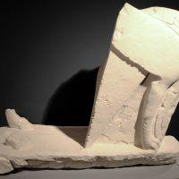 Esfinge. Conjunto escultórico de Cerrillo Blanco (Porcuna, Jaén, España)