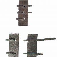Broche de cinturón procedente de la necrópolis de Cerrillo Blanco (Porcuna, Jaén, España)