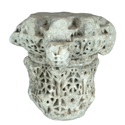 Capitel compuesto (Jaén, España) (Modelo 3D)