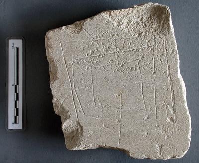 Alquerques.  Conjunto Arqueológico de Madinat al-Zahra (Córdoba, España)