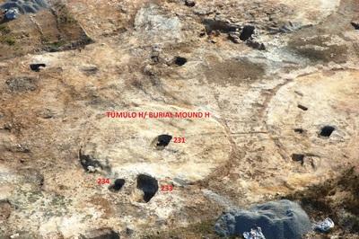 Túmulo H de la necrópolis ibérica de la Noria (Fuente de Piedra, Málaga, España)