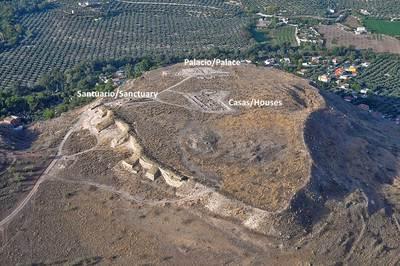 Zona palacial del oppidum ibérico de Puente Tablas (Jaén, España)