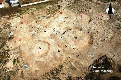 Túmulo F de la necrópolis ibérica de la Noria (Fuente de Piedra, Málaga, España)