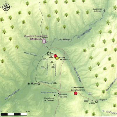 Campamentos romanos de la batalla de Baecula, Cerro de las Albahacas (Santo Tomé-Cazorla, Jaén, España)