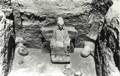 Tumba 155 de la necrópolis de Cerro del Santuario (Baza, Granada, España)