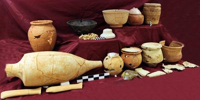 Selección de materiales del ajuar de la tumba principesca de Piquía (Arjona, Jaén, España)
