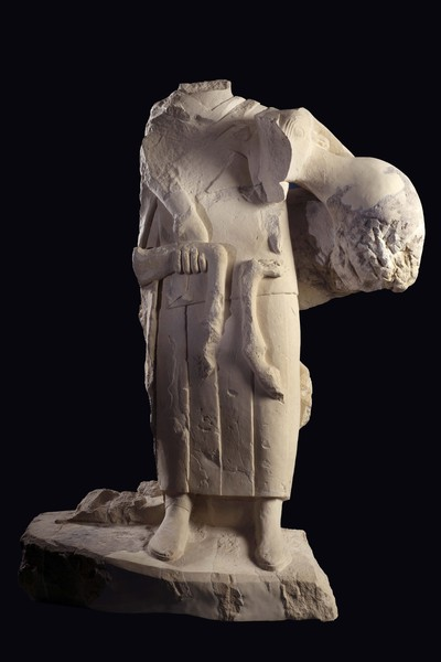 Oferente con cápridos del conjunto escultórico de Cerrillo Blanco (Porcuna, Jaén, España)