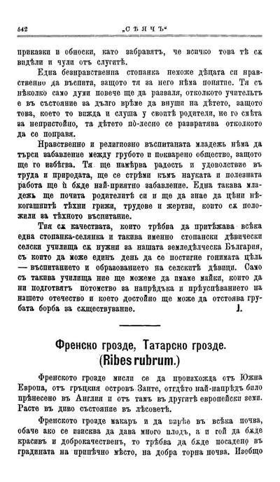 Френско грозде, Татарско грозде (Ribes rubrum)