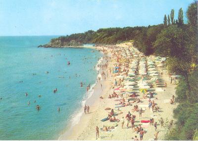 Варна. Курорт Дружба. Южния плаж