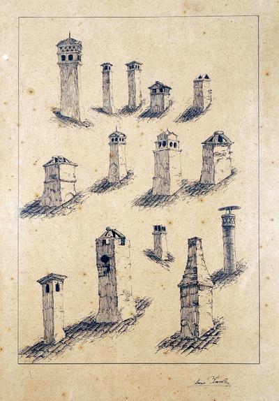 Видове комини от  Стара Варна  в  І-ви и ІІ-ри  участък