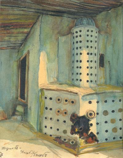 Интериор на стара варненска къща