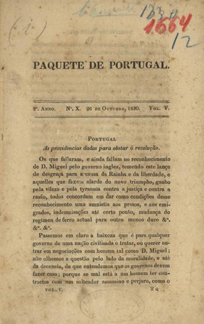 Portugal: as providencias dadas para obstar á revolução