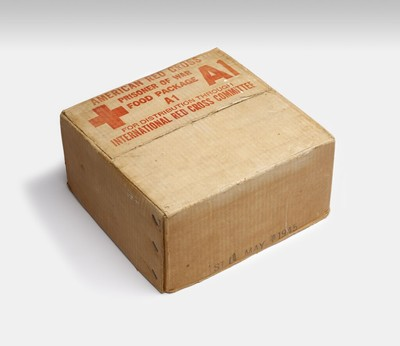 American Red Cross Prisoner of War Food package