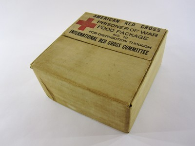 American Red Cross Prisoner of War Food Package No. 10 for Distribution through International Red Cross Committee